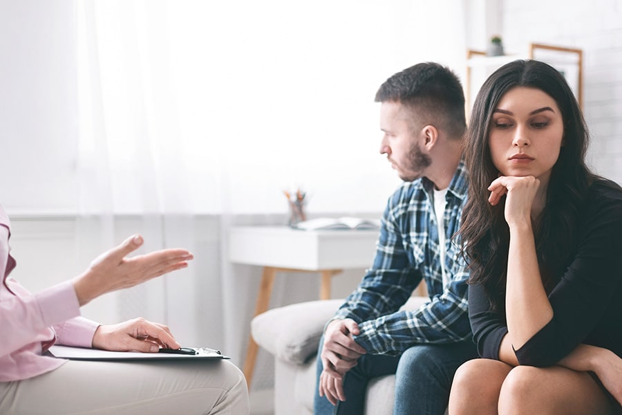 Couples at Marriage Counselling office on Gold Coast